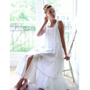 Sleeveless Pure Cotton Nightdress