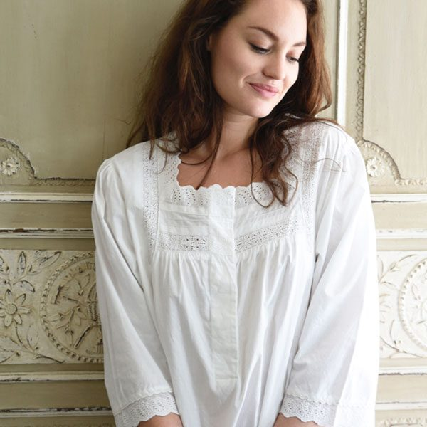 100% Cotton Nightwear Traditional Nightie b0d373541