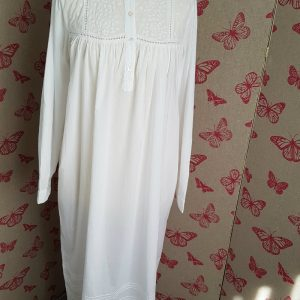 High Necked Nightgown