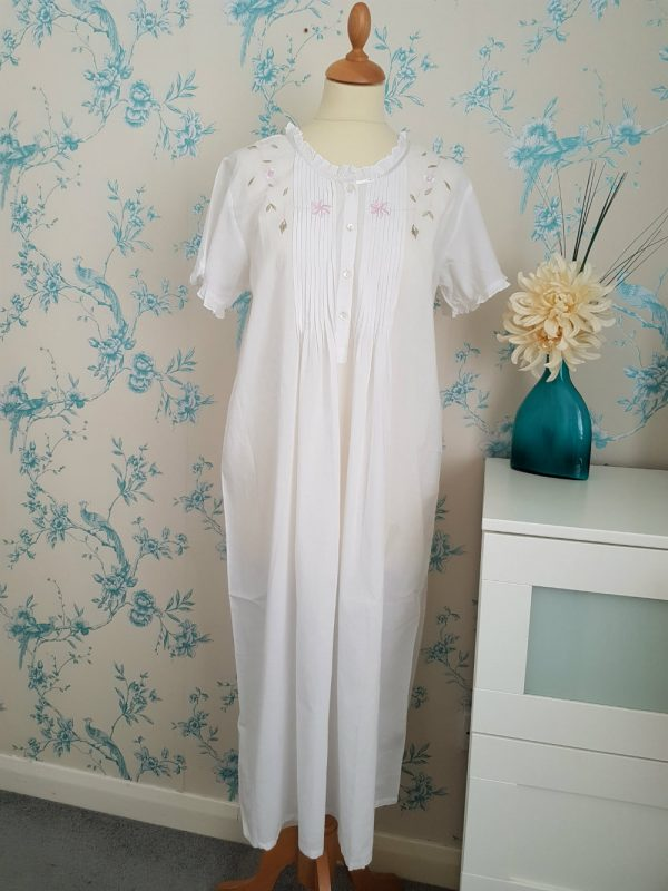 Pin-Tucked Nightie