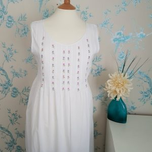 Flowered Front Nightie
